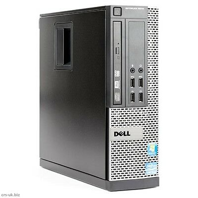 Dell Optiplex 9010 SFF i7 3770 QUAD 3.4GHz 8GB 500GB HDD DVDRW Win 10 PRO