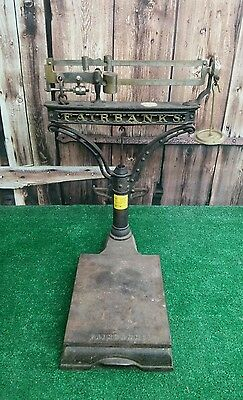 Vintage Fairbanks Grocery Store Post Office Scale SHIPPING INCLUDED