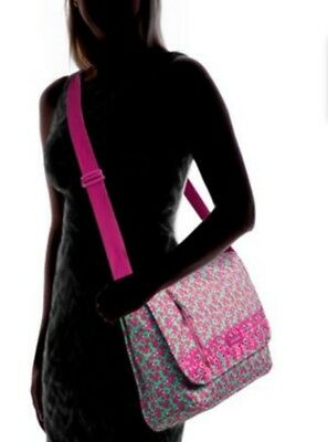 Vera Bradley Women' S Ditsy Dot Laptop Messengers Bag ⭐Retail Price:$98.00 New❤