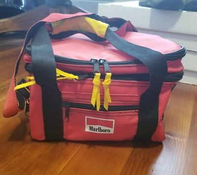 Vintage Marlborro Insulated Cooler Lunch Box