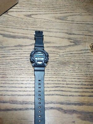Casio G-Shock Men's DW9052 quartz Chronograph Black Resin Band 48.5mm Watch