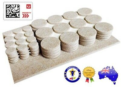 48-96 Piece Felt Furniture Floor Protector Pads Self Adhesive Round Heavy