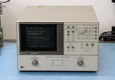 HP/Agilent 8722C 45MHz-40GHz Vector Network Analyzer Opt 001 010