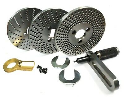 Steel dividing plates set for hv4/hv6 rotary with working manual-milling