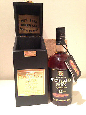 Highland Park 25 Year Old (2004) Single Malt Scotch Whisky 700ml 50.7% ABV