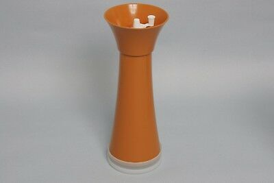 Tupperware Puderzucker-Mühle Süße Müllerin D20, orange, Retro Vintage