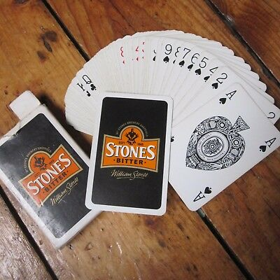Stones Bitter Beer Ale Playing Cards Vintage Full Deck Retro Advertising