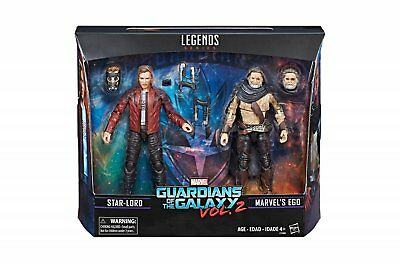 Marvel Legends Series Guardians of the Galaxy Star Lord Marvel's Ego 2 Pack