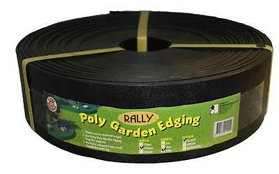 Landscape Garden Edging Black 100mm x 30M Plastic *Out stock till January 2018*