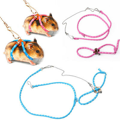 Hamster Harness Leading Small Pet-Supplies Leash Rope Adjustable Outdoor Cats