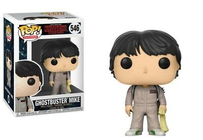 Funko Pop Tv Stranger Things S2 Ghostbuster Mike #546 New Vinyl Figure