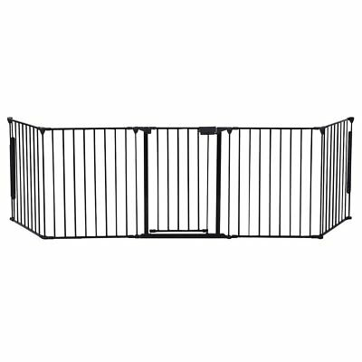 Safety Fence For Baby Hearth Gate BBQ Fire Gate Fireplace Metal Plastic for Pet