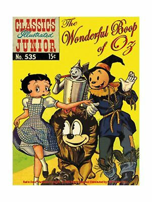 Licenses Products Betty Boop Wonderful Boop of Oz Sticker