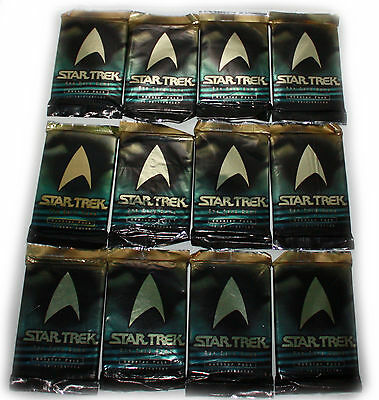 12 x BOOSTER-STAR TREK-Das Card Game-Trading Cards-180 Spielkarten-deutsch-neu