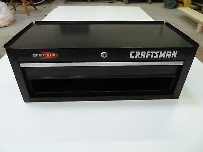 Craftsman Black Quiet Glide Center Tool Box for Roll Away