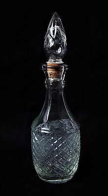 Glass Decanter with Stopper