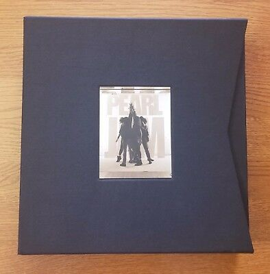 Pearl Jam Ten Vinyl LP Storage Box ONLY Super Deluxe Collector's Edition Vedder