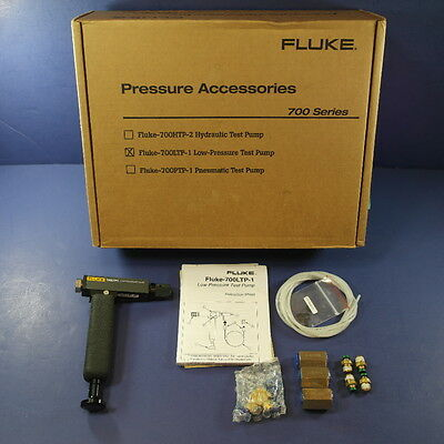 Brand New Fluke 700 LTP-1 Low Pressure Test Pump! Original Box