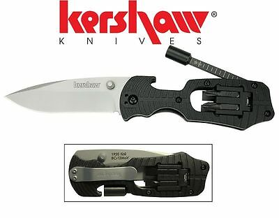 Kershaw Select Fire Knife Plain + Screwdriver Bits 1920 *BRAND NEW IN BOX*