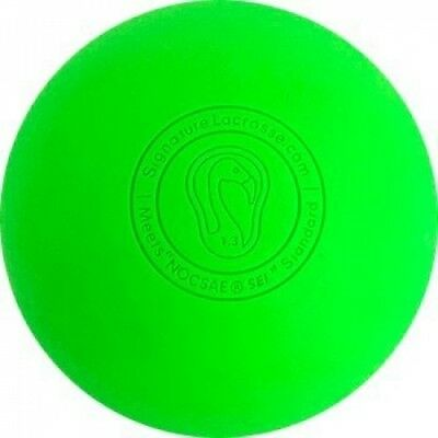 (8 Balls, Green) - Signature Lacrosse Balls - Many Colours and Quantities -