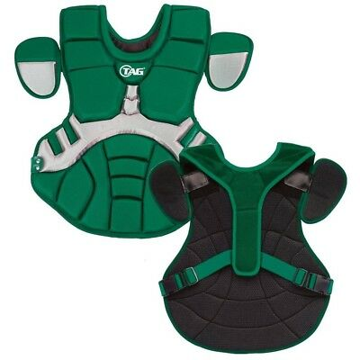 (Green with Grey) - TAG Pro Series Mens Body Protector (TBP 700). Brand New