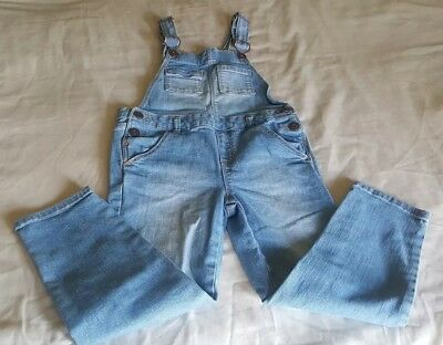 Oshkosh Blue Jean Overalls 6T Denim  Carpenter Girls