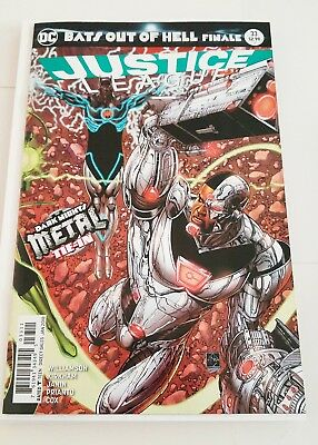 JUSTICE LEAGUE #33 DNM Bats Out of Hell Finale Unread Bagged and boarded NM