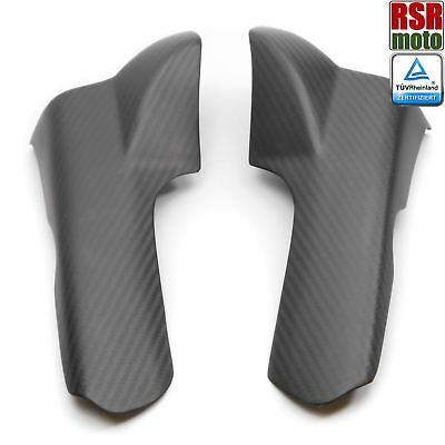 Ducati 900SS 750SS Carbon Fiber Rear Cylinder Air Guides Ducts 91 98