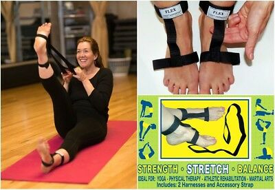 Flex Foot Harness - Safe Flexibility Assistance Straps For Stretching Yoga &