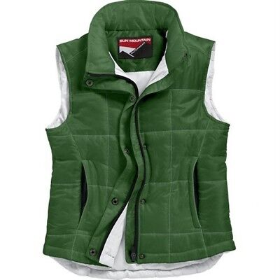 Sun Mountain Women's Alpine Vest (Juniper, Medium). Free Delivery