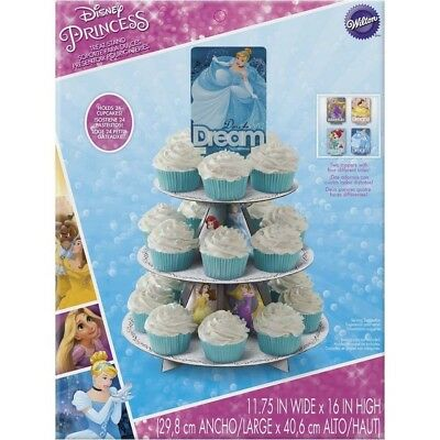 Wilton 1512-7490 Disney Princess Cupcake Stand. Shipping Included