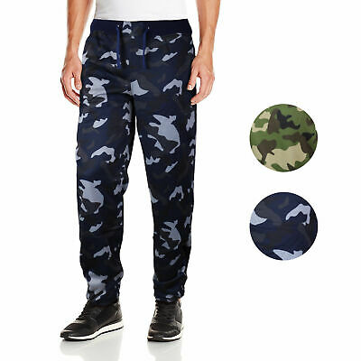 Five Elementz Men's Athletic Work Out Gym Elastic Camouflage Jogger Sweat Pants