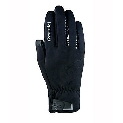 (9, Black) - Roeckl Westlock Unisex Gloves. Toklat Originals. Shipping Included