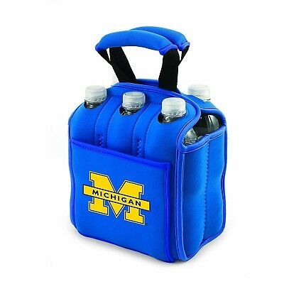 (Michigan Wolverines) - NCAA Six Pack Cooler Tote. PICNIC TIME. Shipping is Free