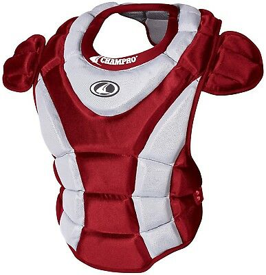 (Scarlet) - Champro Women's Chest Protector. Huge Saving