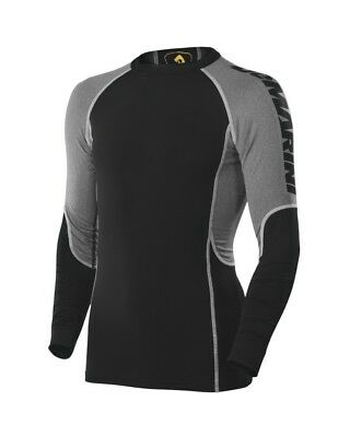(X-Large, Black) - Demarini Men's Swing Shirt. Free Delivery