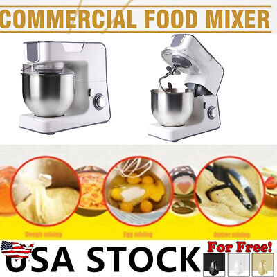 Professional Heavy Duty Stand Mixer 1000W Powerful w/ Beater, Dough Hook, Bowl