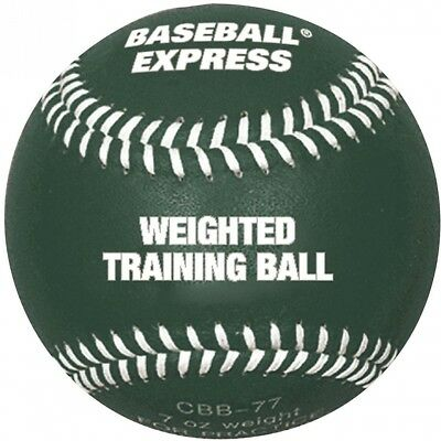 Baseball Express Weighted Training Ball, Green. Champro. Shipping is Free