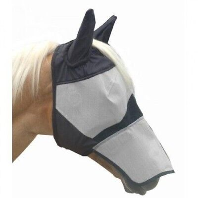 (Full) - KM Elite Fly Mask with Nose. JM. Free Shipping