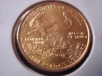 United States 1/10 OZ Gold Coin #BX1