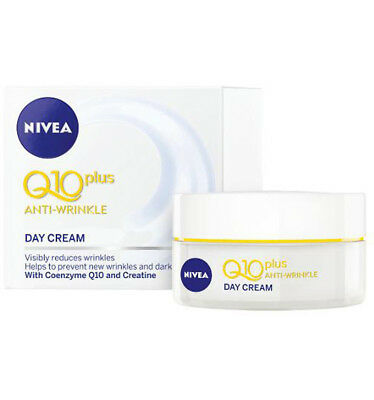 Nivea Visage Q10 Spf30+ Day Cream 50ml x 3