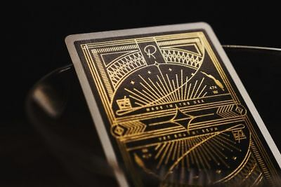 RARE New Sealed Gold Rarebit Deck Playing Cards by Theory 11