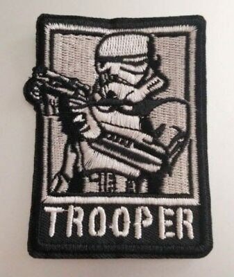 """Star Wars Darth Vader Iron On Patch 4/"""" x 3 3//4/"""" Free Shipping by Envelope Mail"""