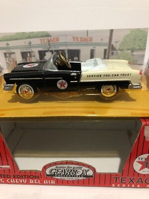 1997 Gearbox Limited Edition Texaco Black 1955 Chevy Belair Pedal Car #12