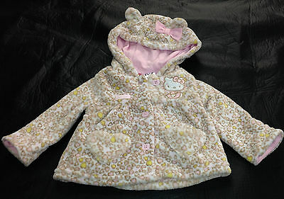 NWT Hello Kitty Licensed Baby Girls Jacket with Hood Size 00