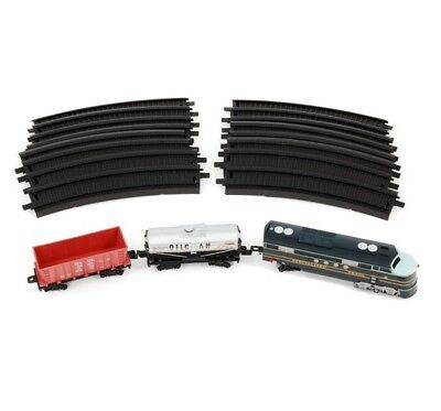 Int'l Express Train Set - 3m of Tracks - Fenfa FF B/0 Train Series 19 Pieces NEW
