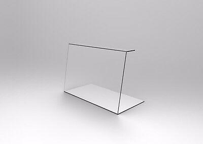 Acrylic Perspex Sneeze Guards - 600mm Wide