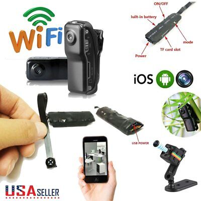 Wireless Spy Nanny Cam IP Pinhole DIY Digital Video Camera Mini Micro DVR USA
