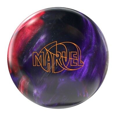 Storm Marvel Pearl Bowling Ball, Silver/Purple/Maroon, 6.8kg. Shipping Included