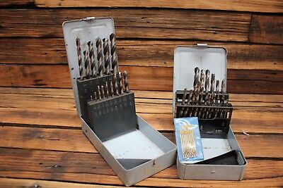 Vintage Sutton Drill Bits Stand Hi-Feed Tupoint P & N